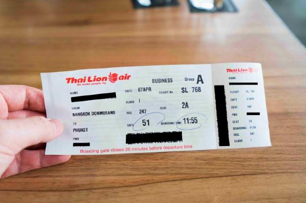 Hướng dẫn Đổi vé máy bay Thai Lion Air vừa nhanh vừa dễ