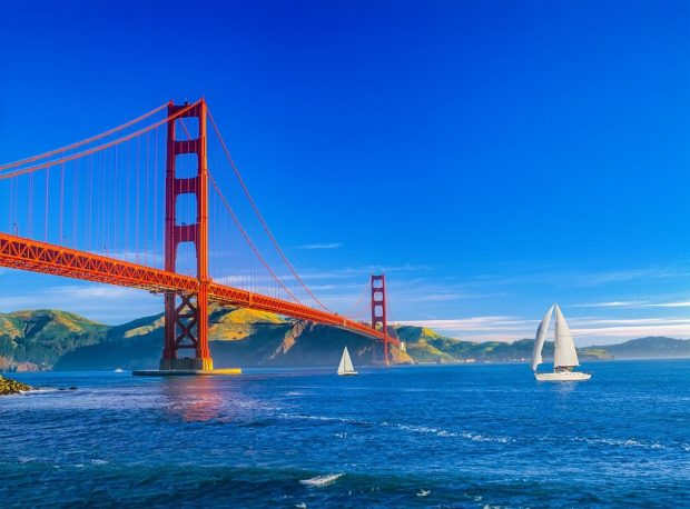 Cầu Cổng Vàng hấp dẫn khách du lịch quốc tế