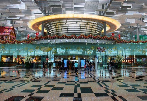 Vé máy bay đi Singapore dừng chân tại ân bay Changi