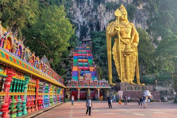 Động Batu - nơi linh thiêng nhất ở Malaysia