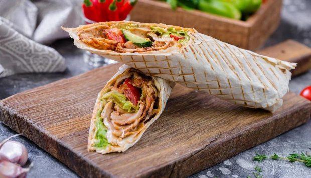 Món bánh mì Shawarmas hấp dẫn của người Ả Rập