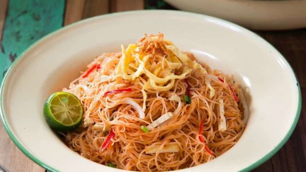 Mì xiêm (Mee Siam) - món ăn yêu thích của người dân Malaysia