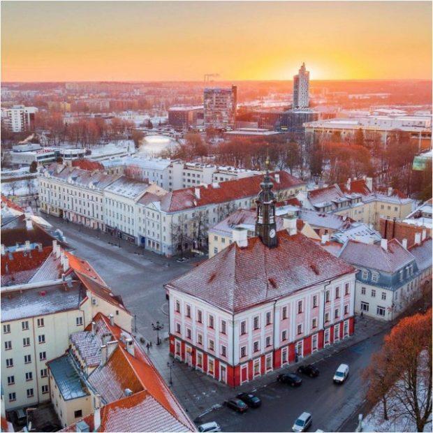 Thành phố Tartu là thành trì phía nam của Estonia