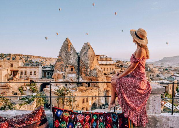 Thỏa sức ngắm khinh khí cầu ở Cappadocia Thổ Nhĩ Kỳ