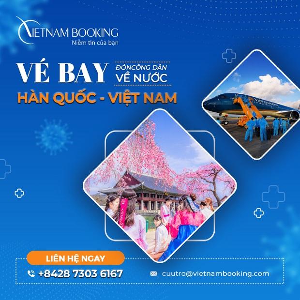 Vé máy bay từ Seoul về Sài Gòn | Đặt vé ở đâu?